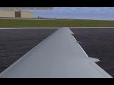 Flightgear 2.8.1: UralAirlines Landing!