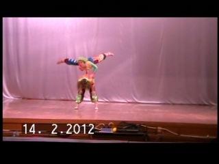 Парная акробатика (Ильина Елена и Гриднева Александра)